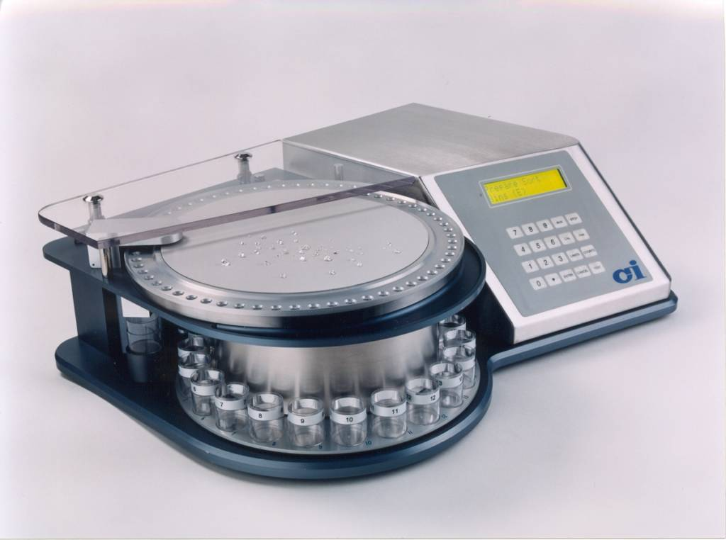 Diamond checkweigher and grading balance from CI Precision