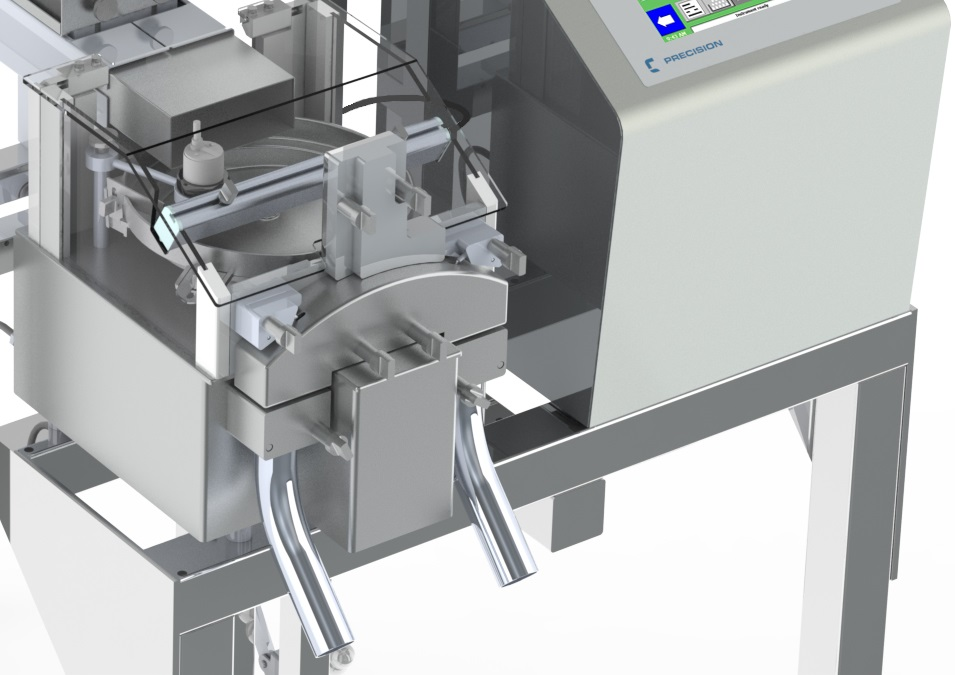 anti-static system for tablet & capsule weight sorter